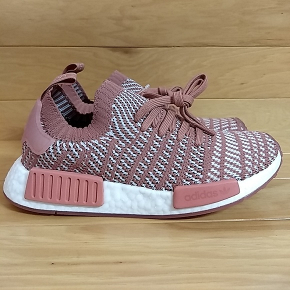 info for bb5bb 3566a Adidas NMD R1 Stlt Pk W Pink Purple White CQ2028